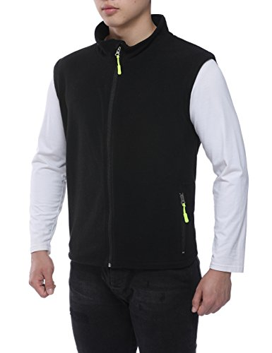 Zip Front Fleece Vest - 6