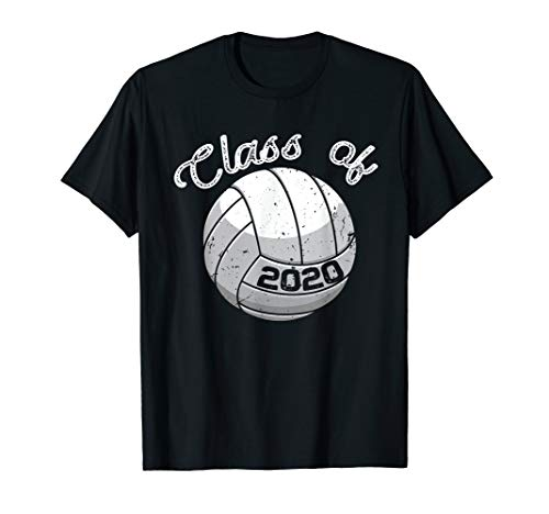 Class of 2020 Shirt Graduation Volleyball TShirt Gift