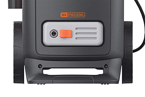 Black+Decker BXPW2200PE Idropulitrice ad Alta Pressione con Patio Cleaner Deluxe e Spazzola Fissa (2200 W, 150 bar, 440 l/h) 6 spesavip