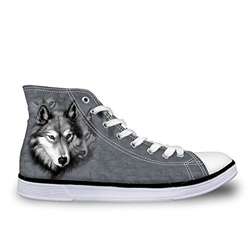 Coloranimal Alto wolf Donna Collo 5 A pattern 0qErp0w