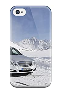 Premium Durable 2010 Mercedes Benz E Class 4matic 3 Fashion Tpu Iphone 4/4s Protective Case Cover