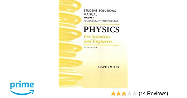 Amazon physics for scientists and engineers student solutions amazon physics for scientists and engineers student solutions manual vol 1 9781429203029 mills books fandeluxe Gallery