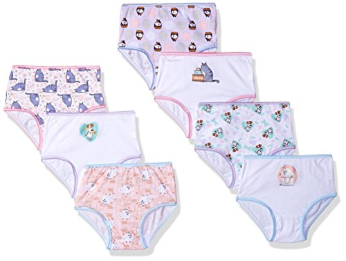 Universal Toddler Girls' Secret Life Of Pets 7 Pack Underwear, Secret Life Of Pets Assorted Prints, 2T/3T (Pet Diaper Panty)