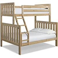 Canwood Lakecrest Twin over Full Bunk Bed, Natural