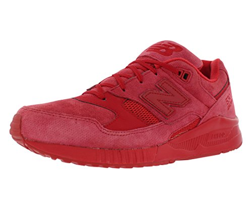 New Balance 530 Men's Running Classics Sneakers Shoes M530AR Red NIB Authentic (New Mens Authentic Suede Sneaker)