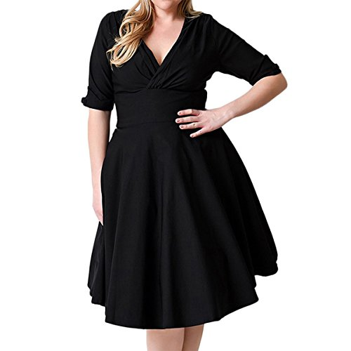 best wrap dress for plus size - 4