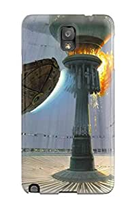 OMnPong720Yedmf Tpu Phone Case With Fashionable Look For Galaxy Note 3 - Star Wars Explosions Death Star Millennium Falcon X-wing Concept Art Ralph Mcquarrie