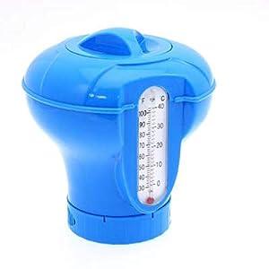 Waech - Dosatore per pastiglie di cloro per piscina e spa, venduto vuoto, non contiene pastiglie di cloro (dosatore con… 41H lI2z56L. SS300