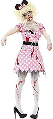 Disfraz Minnie Mouse Zombie Mujer Halloween Todas Las Tallas ...