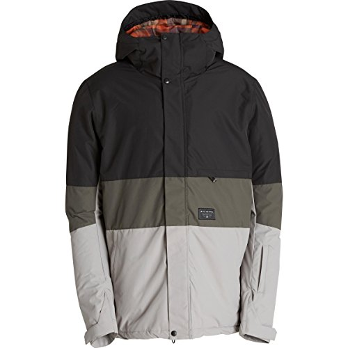 Billabong Men's Legacy Block Snow Jacket, Anthracite, Medium (Billabong Snow Jackets)