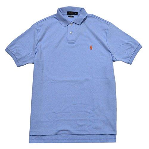 Polo Ralph Lauren Mens Custom Fit Interlock Polo Shirt (Large, Elite - Shirt The Elite