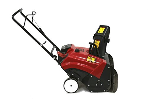 Warrior Tools America WR67436N Single Stage Hand Push Snow Blower, 196cc/22