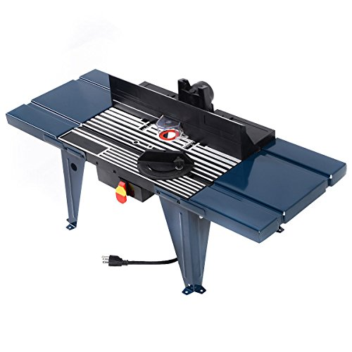 Goplus electric aluminum router table wood working craftsman tool goplus electric aluminum router table wood working craftsman tool benchtop amazon greentooth Gallery