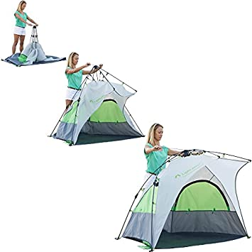Lightspeed Outdoors Bahia Quick Pop Up Beach Sun Shade