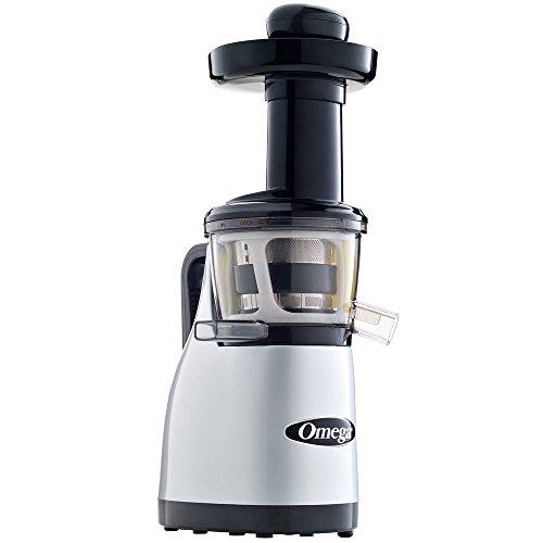 Omega Juicers Omega VRT370HDS Low Speed Juicing System, 1, Silver/Black