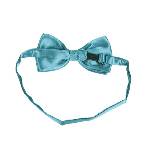 Teal tied Tie Adjustable Bow Plain Satin Solid amp; Colour Pre Classic vdpxqTq