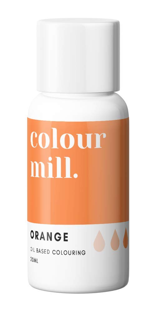 Colour Mill Oil-Based Food Coloring, 20 Milliliters Orange