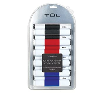 Tul Dry Erase Markers 12 Pack Amazon Co Uk Office Products