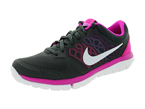 Nike Womens Flex 2015 Rn AnthrctPnk PwFchs FlshFchs Running Shoe 7.5 Women US