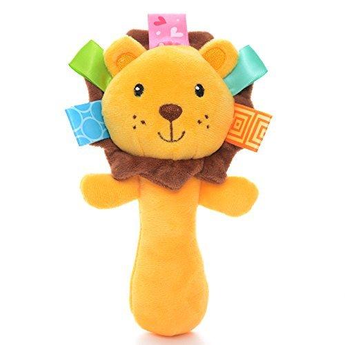 Lazada Plush Baby Hand Rattle Infant Toys 6PCS