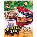 Waffle Zoo Waffle Maker - Make Fun Animal Shaped Waffle in Minutes