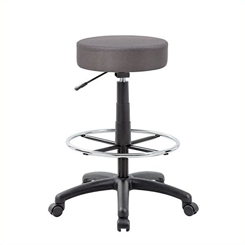 Scranton & Co Drafting Chair Charcoal Grey by Scranton & Co