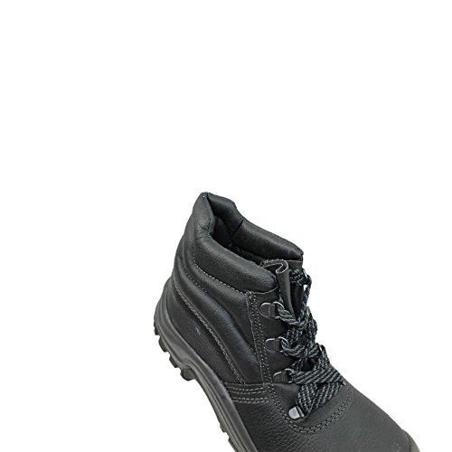 Auda - Chaussures En Cuir Pour Homme Protection Vert, Vert - Vert, 45 Eu