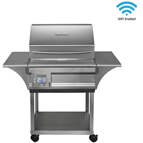Memphis Grills Advantage Wood Fire Pellet Smoker Grill with Wi-Fi (VG0050S4), Freestanding, 430 Stainless Steel -
