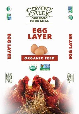COYOTE CREEK ORGANIC FEED MILL 285 Egg Layer Crumbles