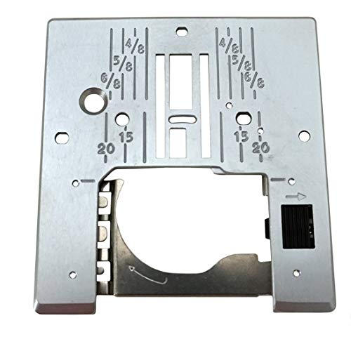 Janome Needle Plate For Models 509, 521, 525S, 625E, 7318 &