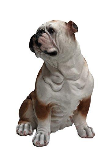 C F USA Sitting Bulldog Puppy Figurine 22CMH