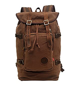 Volyer Large Rucksack Hiking Backpack Coffee