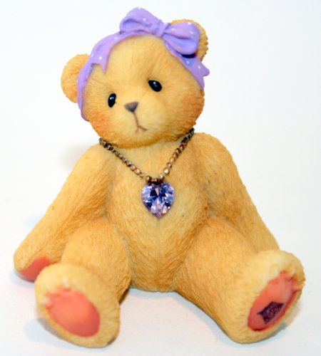 Cherished Teddies Little Sparkles Birthstone Bear - Bear Birthstone June