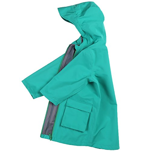 Nanny McPhee Baby Rainwear Unisex Baby Boys Girls Kids Hooded Outwear Raincoat Children Waterproof Coat Jacket by Nanny McPhee