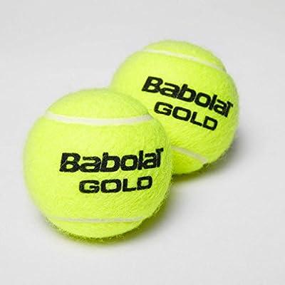 Babolat Gold Pet X4 Pelota de Tenis, Unisex Adulto, Amarillo ...