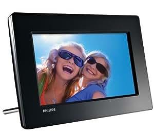 "Philips Digital PhotoFrame SPF1017 - Marco digital (17,78 cm (7""), 480 x 234 Pixeles, LCD, JPG, 512 MB, SD, SDHC)"