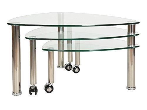 aus glas mit rollen great aus glas auf rollen with aus glas mit rollen interesting couchtisch. Black Bedroom Furniture Sets. Home Design Ideas