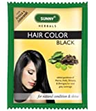 SUNNY HAIR COLOUR BLACK 20GM-PACK OF 5
