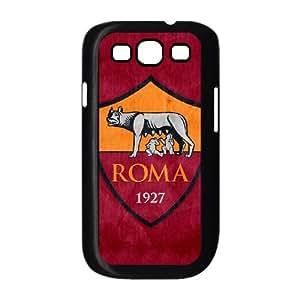 Samsung Galaxy S3 9300 Cell Phone Case Black As Roma Logo VIU980574