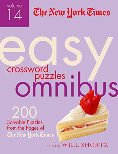 Pdf Humor The New York Times Easy Crossword Puzzle Omnibus Volume 14: 200 Solvable Puzzles from the Pages of The New York Times