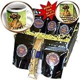 Dogs Dachshund - Smooth Dachshund - Coffee Gift Baskets - Coffee Gift Basket
