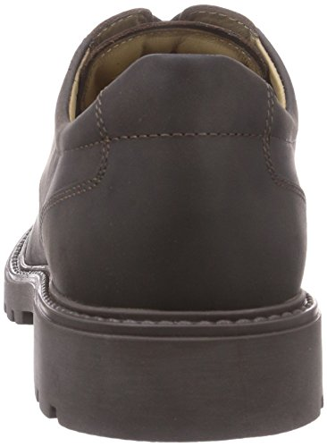 Camel Active Outback 11 Mannen Derby Lace Up Brogues Bruin (mokka)