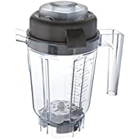 Vitamix 62947 32 oz Compact & Stackable Blade Asse Aerating Container