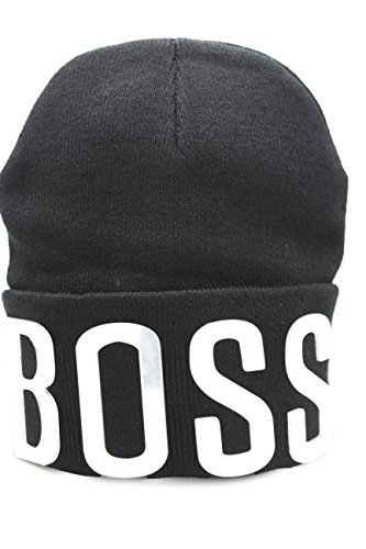 TFJ Men Women Black Knit Boss Bling Unisex Rivets Bolt Hip Hop Beanie Cap Hat 3d Silver ()