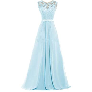 HHBY Women\'s Multiple Color Lace Tank Bridesmaid Dresses for Wedding ...