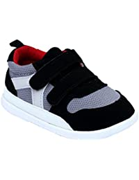 Baby Boys and Girls Cotton Rubber Sloe Outdoor Sneaker First Walkers Shoes
