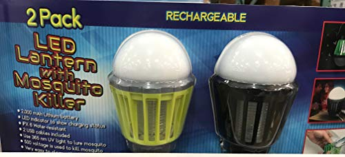 - Wisley 2 Pack LED Lantern with Mosquito Killer