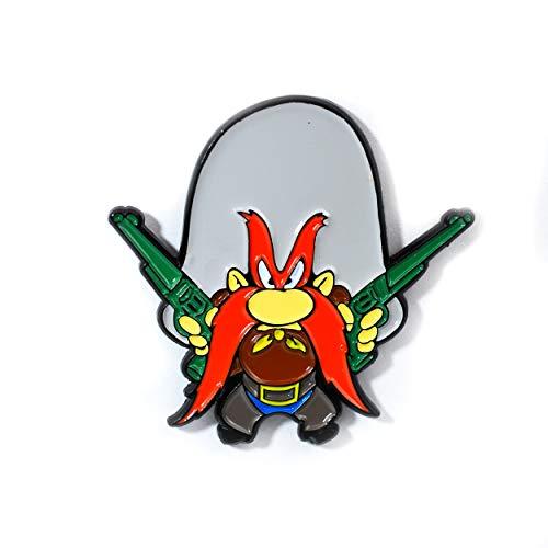(Looney Tunes Yosemite Sam Enamel Pendant Lapel Hat Pin)
