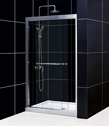 Frameless Bypass Shower Doors - 7