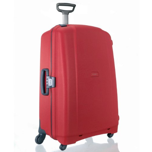 (Samsonite Luggage Flite Spinner 28-Inch Travel Bag, Red, One Size)